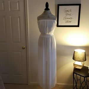 White Mossimo Maxi Dress