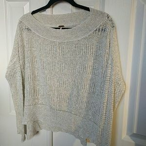 Free People These Fine Days Ivory Sweater XS