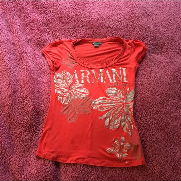 78 off armani exchange tops armani exchange t shirt for Armani exchange t shirts wholesale