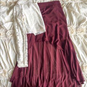 Forever 21 High-Low Skirt