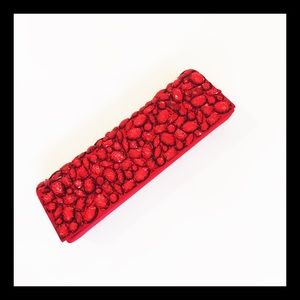 L'Wren Scott at Banana Republic Handbags - Satin Embellished Clutch