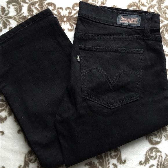 2dc4725e0d0 Levi s Denim - Levi s 524 Too Superlow Straight Jeans - Black