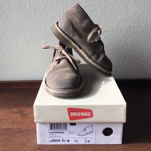 349557ebdc7cf Clarks Shoes | Original Kids Desert Boots | Poshmark