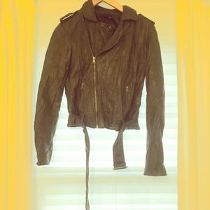 F21 Faux Leather Jacket