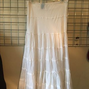 Dresses & Skirts - White long skirt