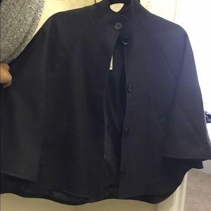 Jackets & Blazers - NWT black cape coat