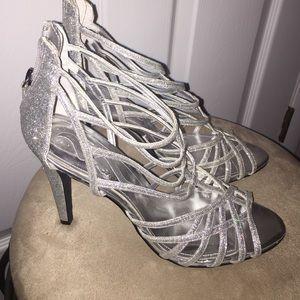 Nina Ricci Shoes - Silver Nina Ricci Heels