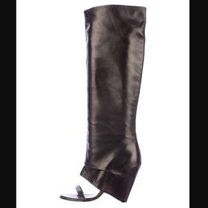 Maison Martin Margiela open-toe knee high boots