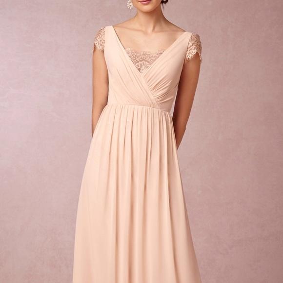 899ef32eddc Anthropologie Dresses   Skirts - BHLDN by Anthropologie Evangeline Blush  Rose Dress