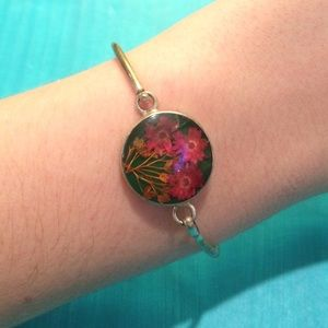 Jewelry - Pressed flower bracelet