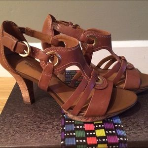 """Naturalizer Shoes - Naturalizer 3"""" leather sandals"""