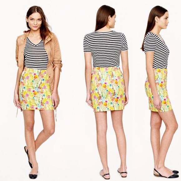68% off J. Crew Dresses & Skirts - Liberty Postage Stamp Mini ...