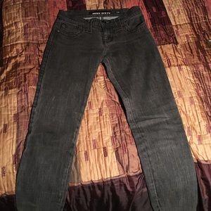 Miss Sixty Distressed Black Jeans