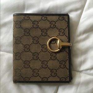 Authentic Brown Gucci Wallet
