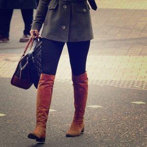 Nine West cognac boot