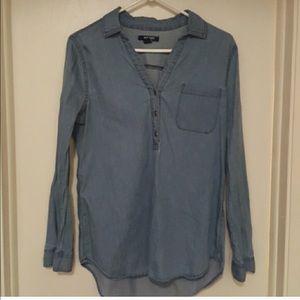 Old Navy Denim Shirt Top