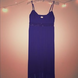 Dresses & Skirts - Midnight enchantment deep purple dress