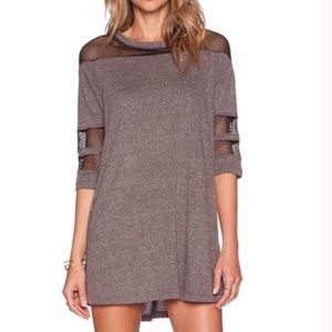 New Mesh Tunic Dress