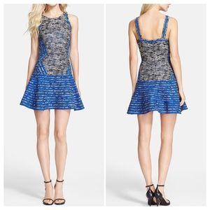 PARKER FIT & FLARE DRESS