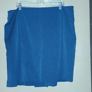 Hunter Green plus size pencil skirt