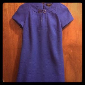Blue Tahari dress