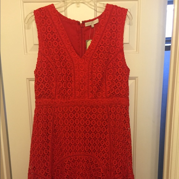 Anthropologie Dresses & Skirts - Red Anthropologie Dress