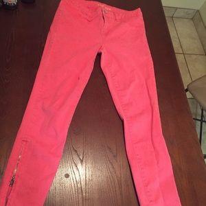 Size 6 pink pants