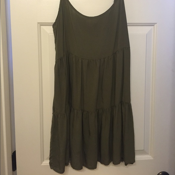 American Eagle Outfitters Dresses & Skirts - Army Green Dress