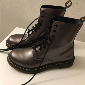 Dr. Martens Pascal Pewter Boots