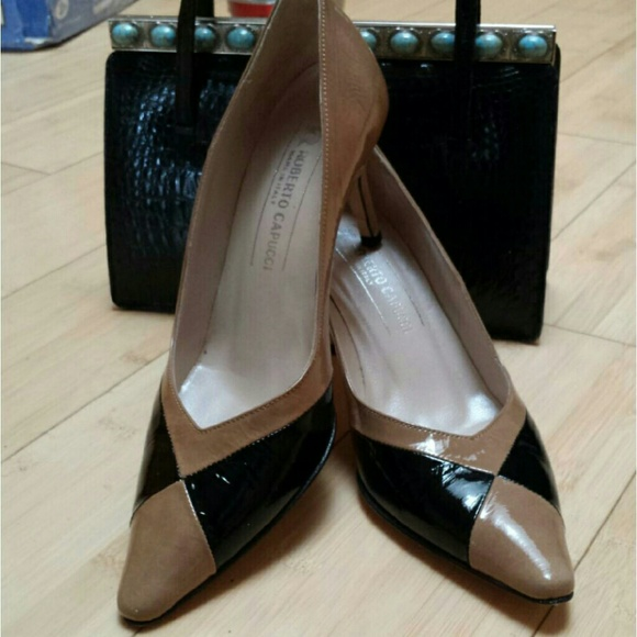 71c620ddc7fac Roberto Capucci Leather Heels - Size 6