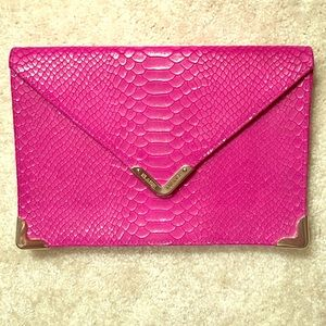 Genuine Oversized Elaine Turner envelope clutch