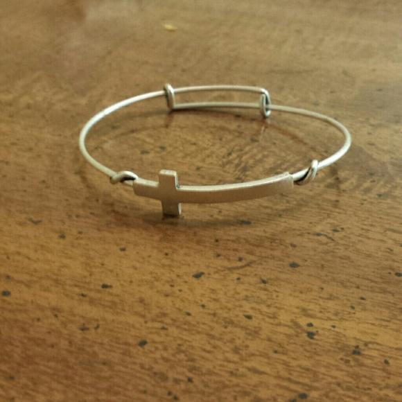 26f34d1e37f29 Alex & Ani Cross Wrap Bracelet