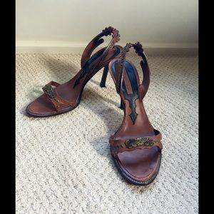 DSquared2 Leather sandals, sz 9