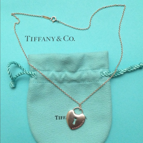 33ad6b5b0 Tiffany & Co. Jewelry | Like New Authentic Tiffany Heart Lock ...
