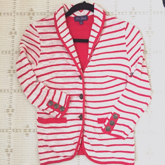 Urban Outfitters Jackets & Blazers - Like NEW soft knit stripe blazer