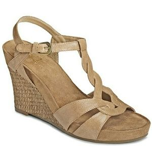 A2 by aerosoles Shoes - Brand new nude wedges