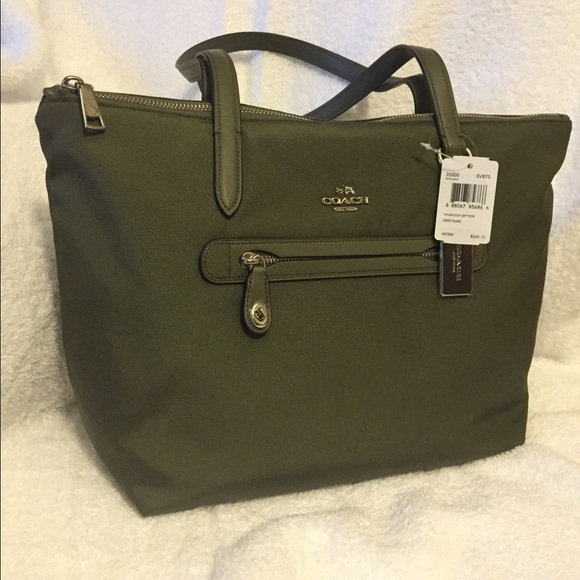 coach bags new with tags nylon zip tote 35500 poshmark rh poshmark com