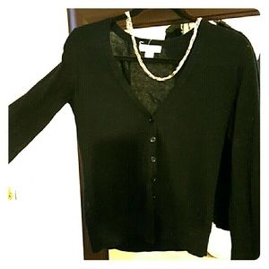 FLASH SALE***Forever 21 black cardigan button up