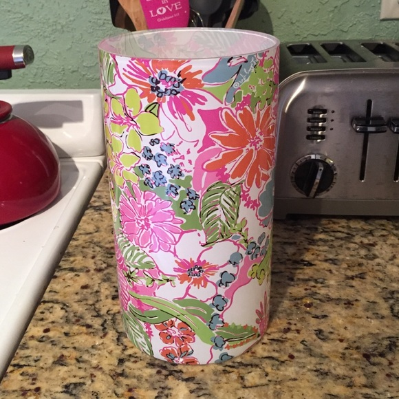 Lilly Pulitzer Accessories For Target Glass Vase Brand New Poshmark