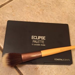 Other - Coastal Scents eclipse palette and Ecotools brush