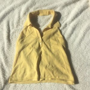 Sexy, gently loved 65% silk halter top