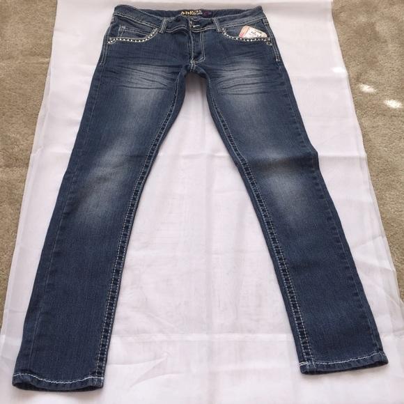 angels angels skinny jeans from tres hermanas 39 s closet. Black Bedroom Furniture Sets. Home Design Ideas