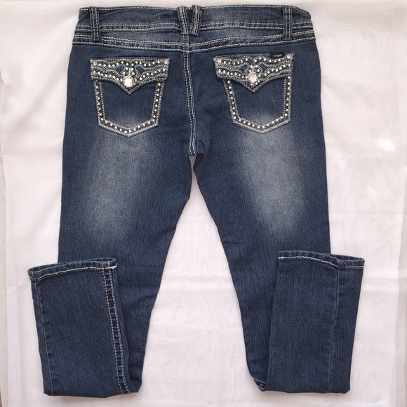 angels angels skinny jeans from tres hermanas 39 s closet on poshmark. Black Bedroom Furniture Sets. Home Design Ideas