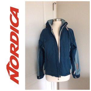 ☃ Nordica Turquoise Blue Snowboarding 🏂 Jacket