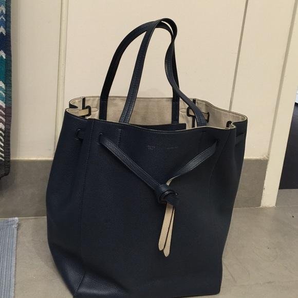 af4f4862a3ea Celine Handbags - Blue leather cabas phantom tote