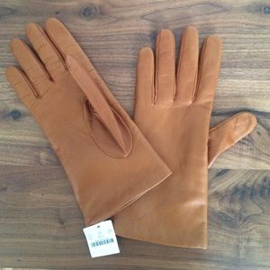 J.crew 100% leather gloves - BRAND NEW + TAGS