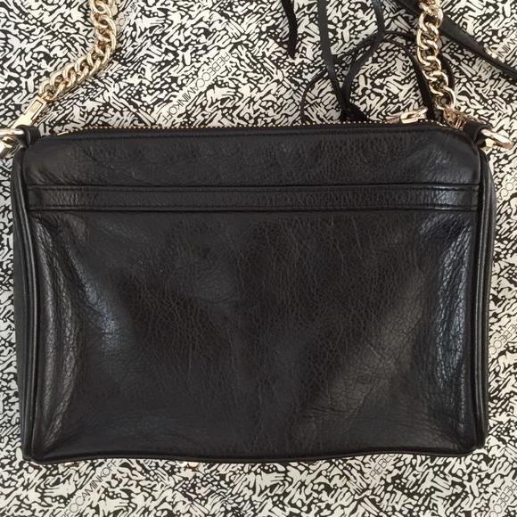 Rebecca Minkoff Bags - Rebecca Minkoff black mini Mac cross body bag