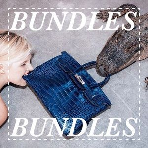 BUNDLES WELCOME!