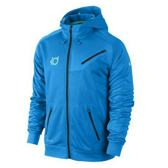 66% Off Nike Jackets U0026 Blazers - Nike KD 7 Hero Premium F/Z Hoodie In Blue. From Kashaelau0026#39;s ...