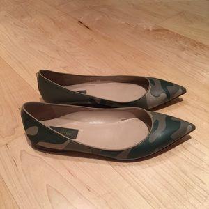 Valentino Shoes - Valentino Garavani Camo Flats size 38
